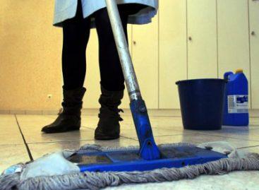 Má conservação de equipamentos gera micoses em trabalhadores de limpeza