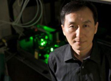 Metal gravado a laser permite líquido fluir contra a gravidade