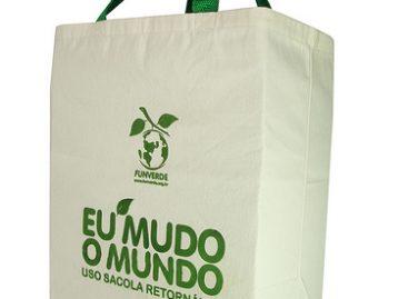 Quantas sacolas descartáveis você recusa por dia?