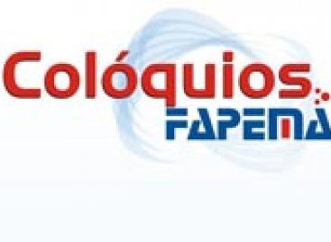 """11ª edição do projeto """"Colóquios Fapema"""""""