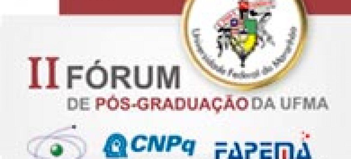 Inscrições para o II Fórum de Pós-Graduação ainda estão abertas