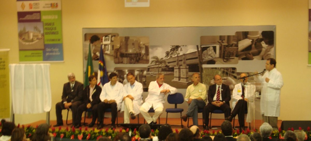 Ministro destaca desconcentração de recursos na inauguração de unidade de radiofármacos