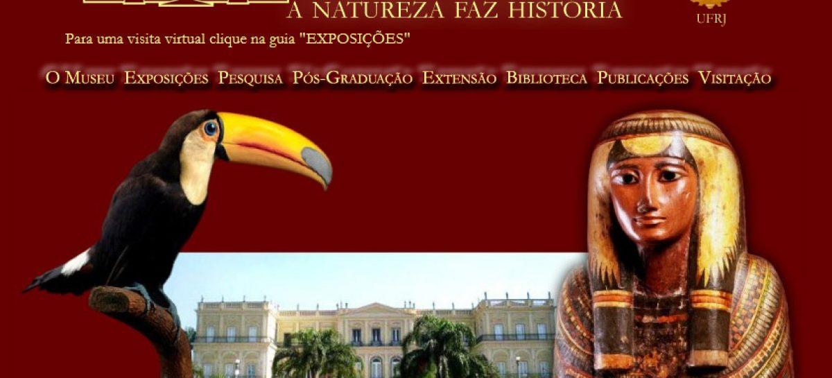 Museu Nacional tem novo site