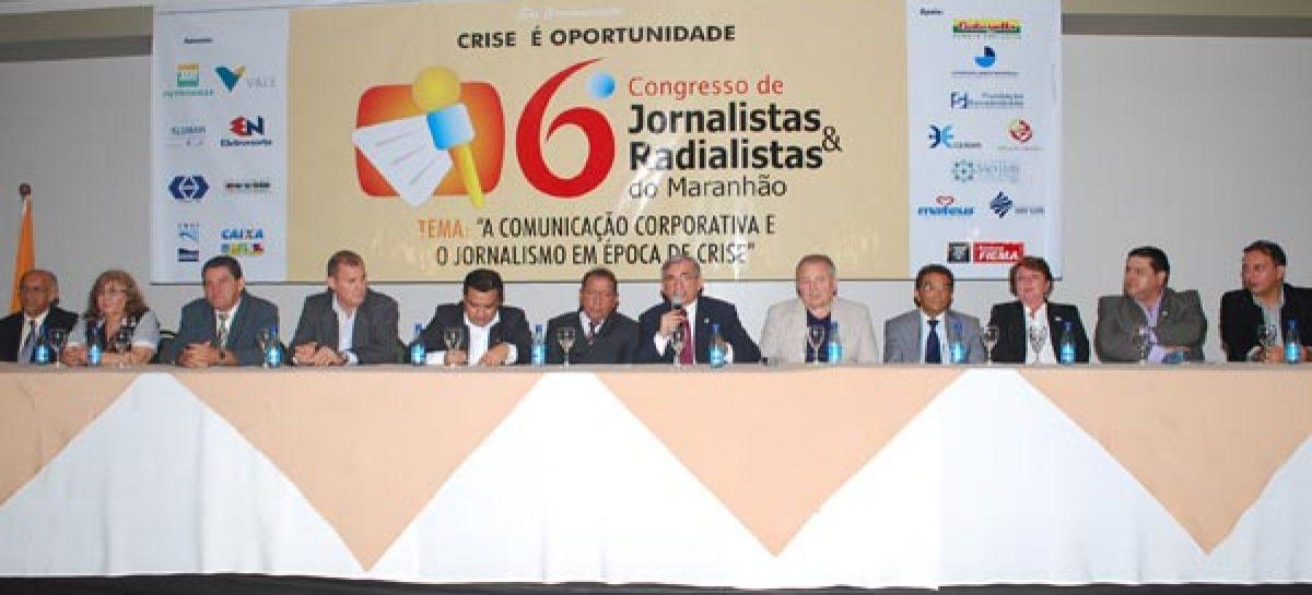 Presidente da Fapema participa da abertura de Congresso de Jornalistas e Radialistas