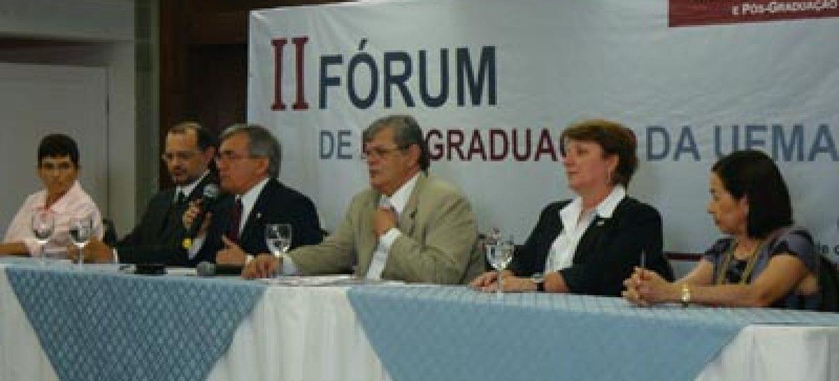 Presidente da Fapema reafirma apoio à Pós-Graduação em Fórum da Ufma