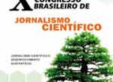 Congresso em BH debaterá Jornalismo Científico