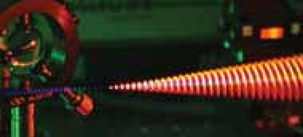 No instante do laser