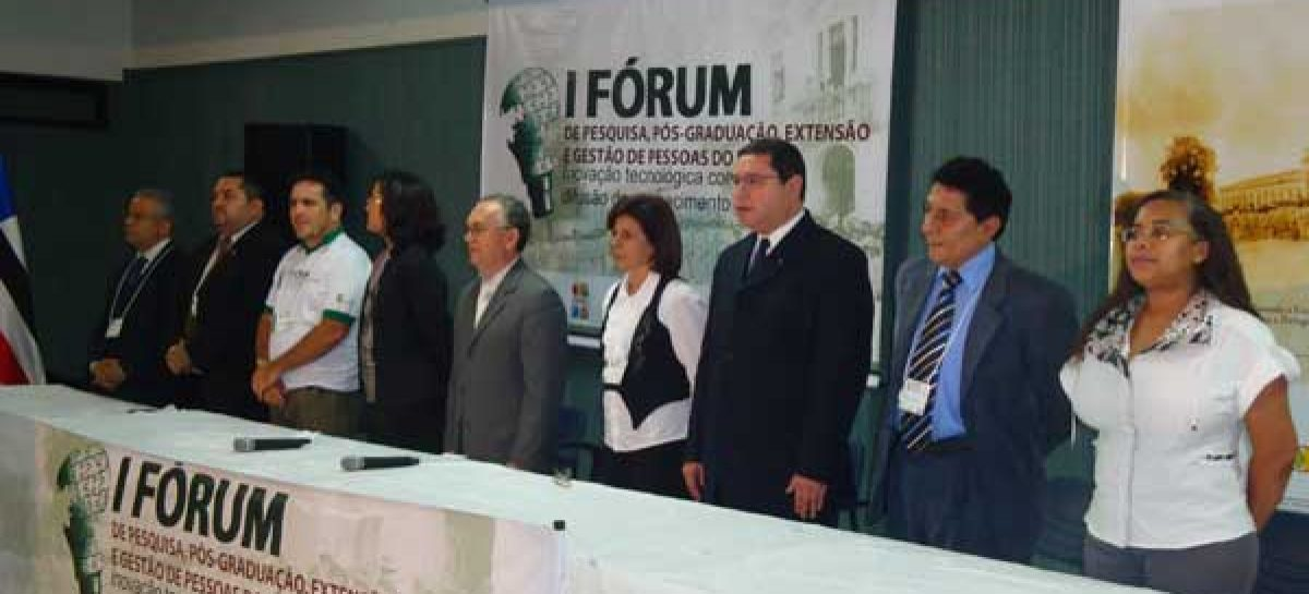 Fapema participa da abertura do I FOPEG