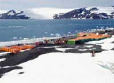 Polo Sul mais frio