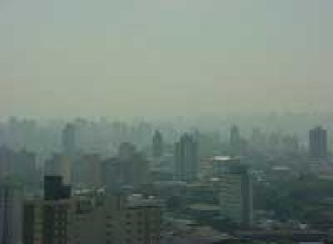 Poluição por ozônio cresce em SP, aponta Cetesb