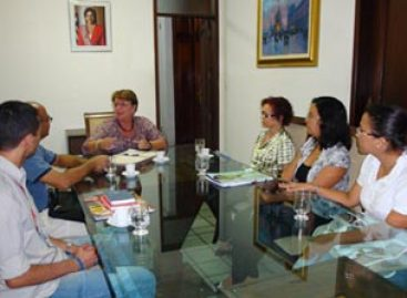 Presidente da Fapema recebe representantes do Curso de Comunicação da UFMA