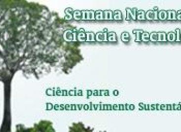 Ciência para o Desenvolvimento Sustentável é o tema central da SNCT em 2010