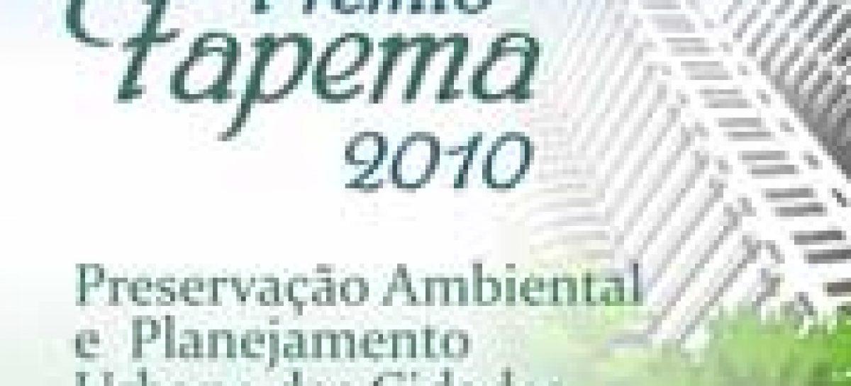 Preservação Ambiental e Planejamento Urbano das Cidades é tema do Prêmio Fapema 2010