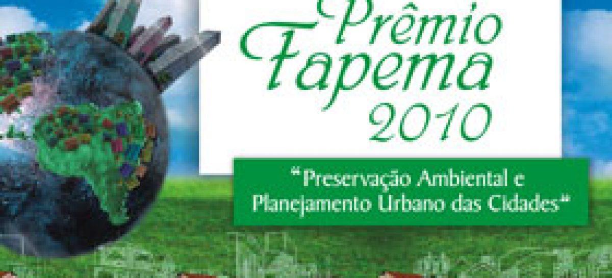 Prêmio Fapema 2010 tem novas modalidades e amplia para 32 o número de premiados