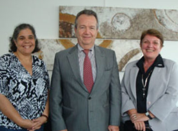 Presidente da Fapema e embaixador da Bélgica discutem cooperação técnico-científica.