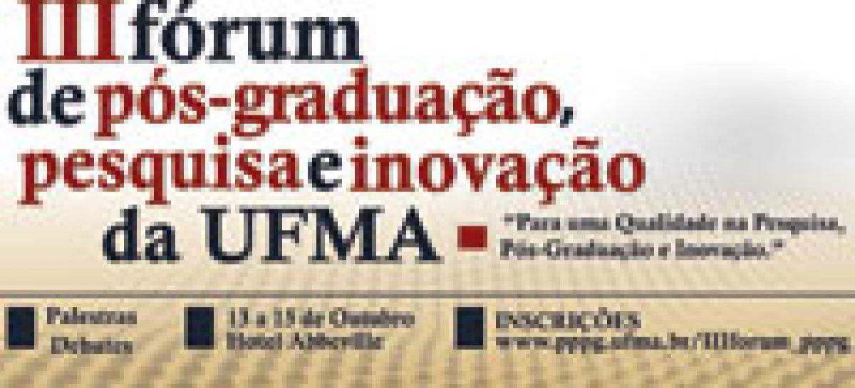 III Fórum de Pós-Graduação, Pesquisa e Inovação