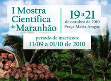 Confira a programação da Sessão de Pôsteres da I Mostra Científica do Maranhão