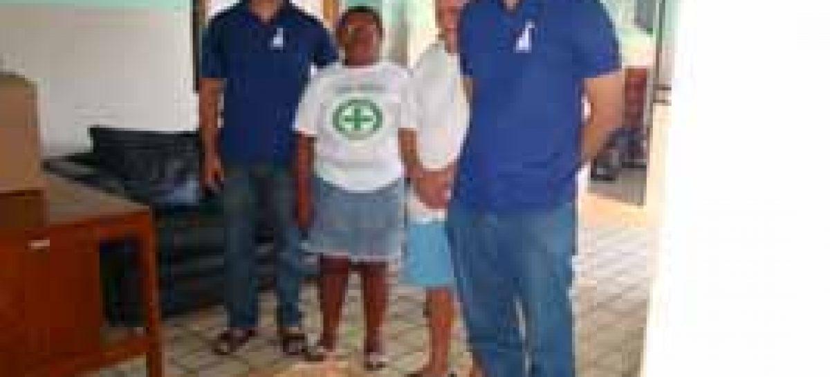 Fapema faz doação de alimentos ao Asilo de Mendicidade