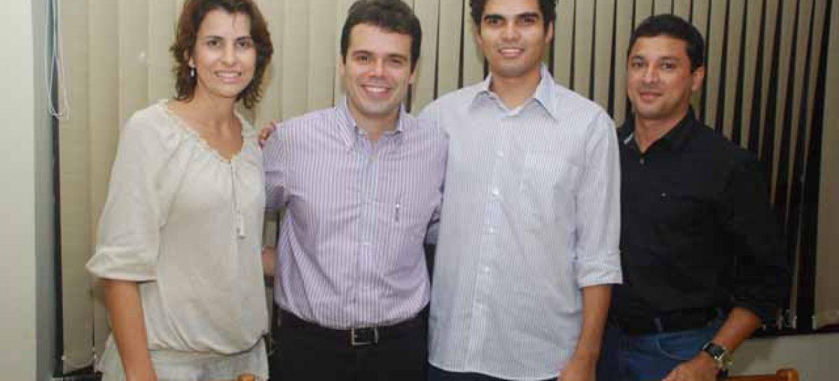Equipe da Fapema participa de encontro com jovens empresários