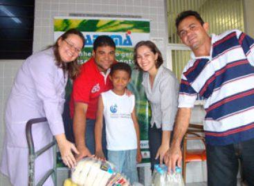 Fapema faz doação de alimentos