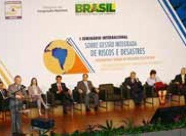 Seminário sobre Gestão de Riscos e Desastres tem início em Brasília (DF)