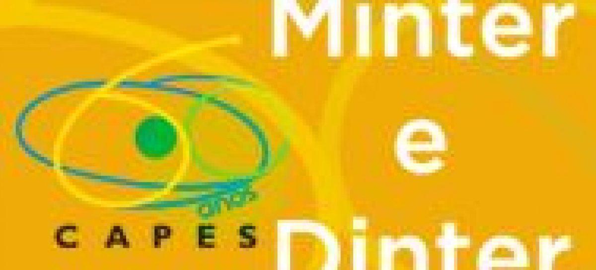 Aberto edital com instruções para apresentação de propostas de Minter e Dinter