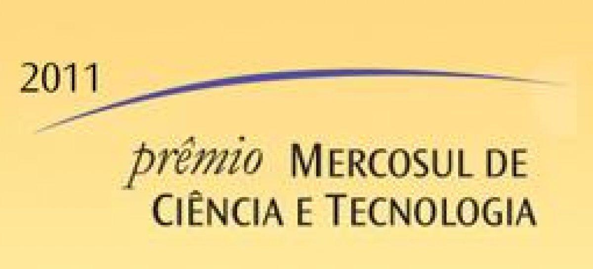 Estão abertas as inscrições para o Prêmio Mercosul de C&T 2011
