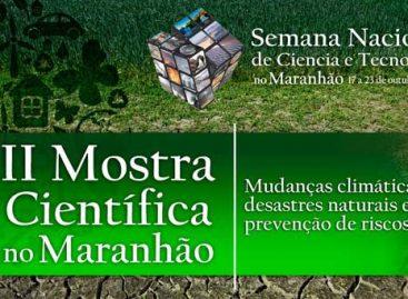 Atenção: Abertas inscrições de atividades para II Mostra Científica do Maranhão