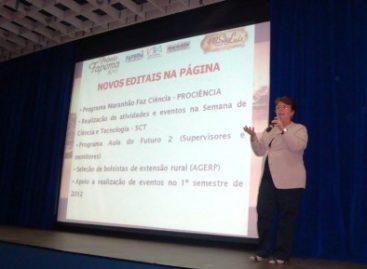 Faculdade Pitágoras recebe presidente da FAPEMA em palestra sobre pesquisa científica
