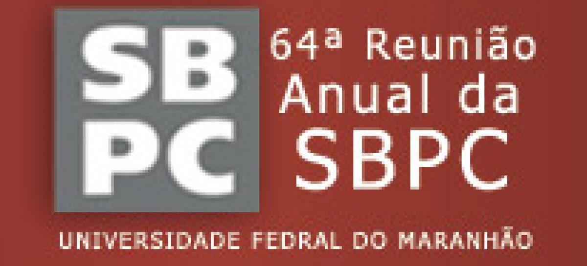 Envio de propostas para os minicursos da 64° SBPC