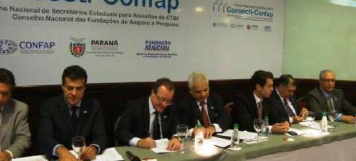 Começou, em Curitiba, o Fórum Consecti Confap