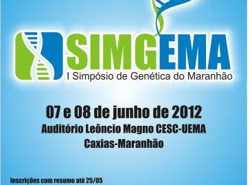 ACONTECERÁ EM JUNHO O 1° SIMPÓSIO DE GENÉTICA DO MARANHÃO