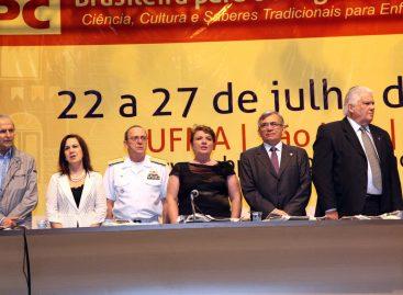 Secretária Rosane Guerra representa Governo do Estado na abertura da SBPC