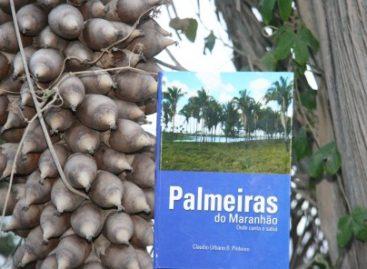 Sessão de autógrafos dos livros Plantas Úteis do Maranhão e Palmeiras do Maranhão na SBPC