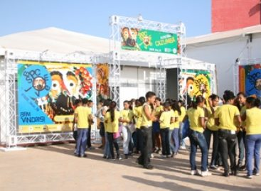 SBPC Jovem é sucesso de público. 6 mil visitam estande diariamente