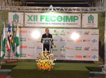 Fapema participa da abertura da 12ª FECOIMP