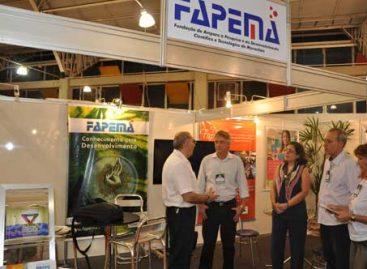 Presidente da Associação Comercial de Imperatriz visita estande da FAPEMA no encerramento da 12ª FECOIMP
