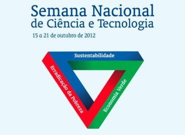 Inscrições para realização de atividades durante a SNCT termina dia 25