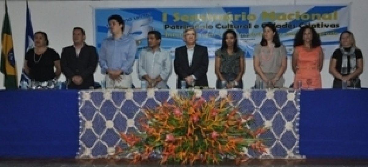 Seminário Patrimônio Cultural e Cidades Criativas marca 25 anos do curso de turismo da UFMA