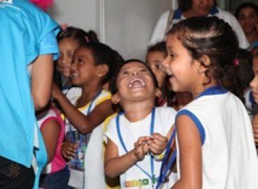Tarde de alegria e descobertas para crianças que visitaram a SNCT