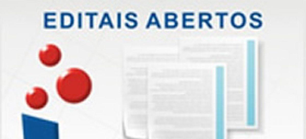 Inscrições para os editais NIT, Apoio a Incubadoras e PACCEJ encerram dia 14