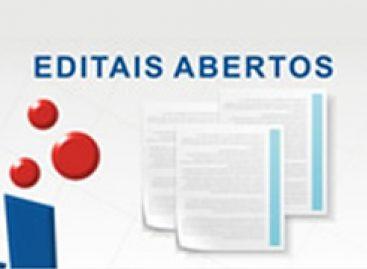 Edital aberto para seleção de bolsistas para ações estratégicas da Secretaria de Estado da Cultura