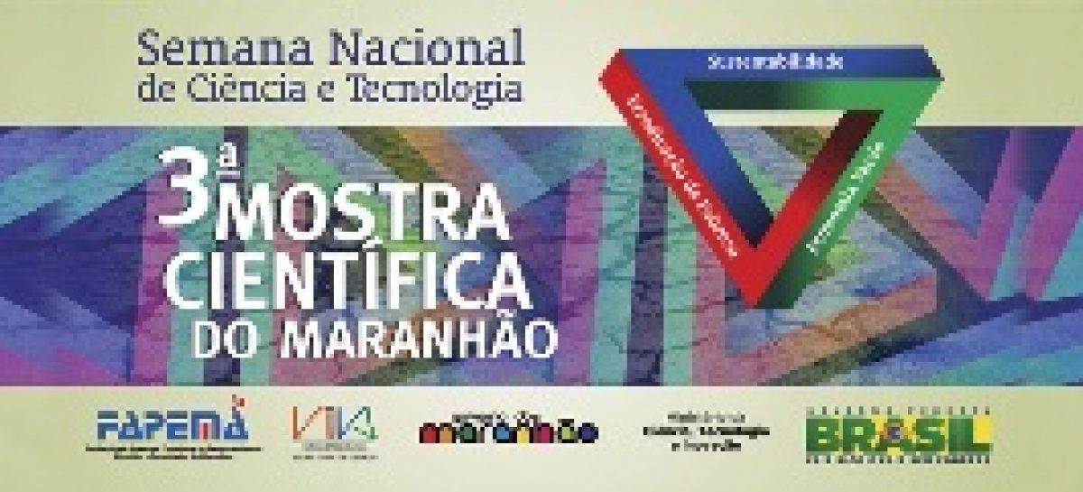 Divulgada a programação da III Mostra Cientifica do Maranhão evento da SNCT