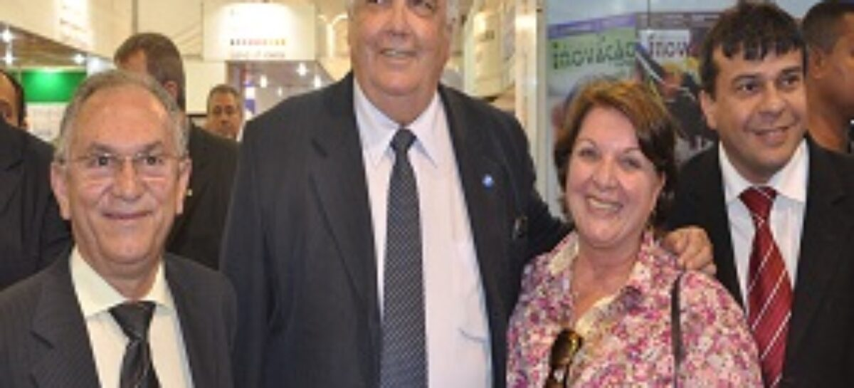 Ministro Raupp, do MCTI, visita o stand da FAPEMA na 65ª SBPC