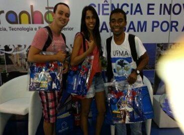 Estudantes maranhenses participam da SBPC com apoio da FAPEMA
