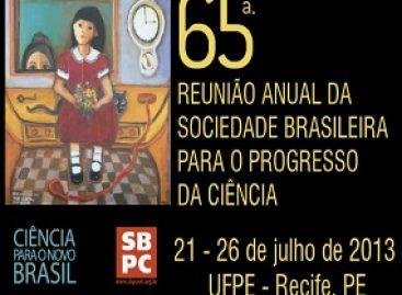 Programação da 65ª Reunião Anual da SBPC já está definida