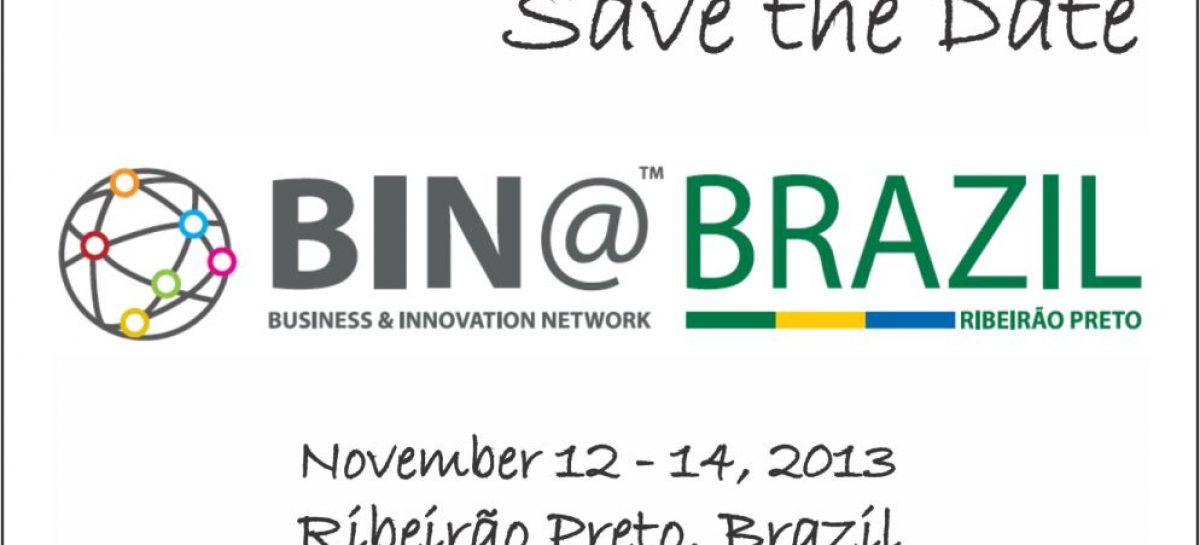 BIN@BRAZIL 2013 já reúne inscritos de 14 estados do país