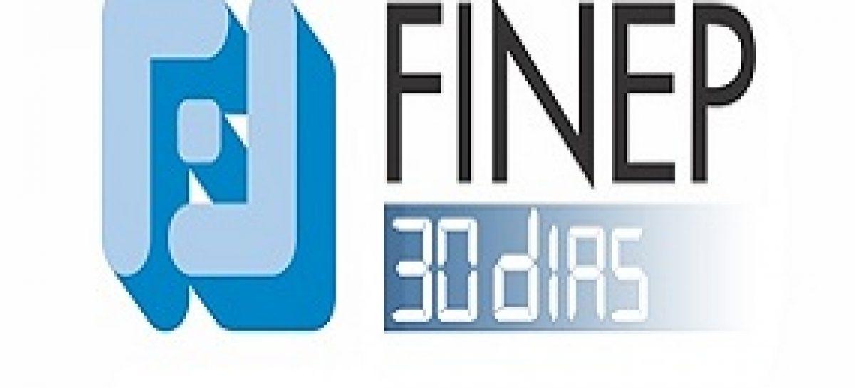 Empresários aprovam FINEP 30 dias e já cadastram novos projetos
