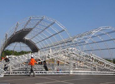SNCT MA: estrutura física do evento já está em construção