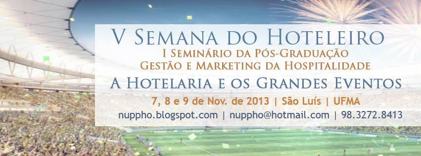 V seminario de hotelaria e turismo